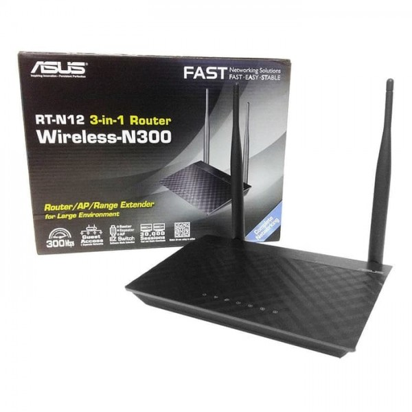 ASUS Wireless Router [RT-N12 Plus]