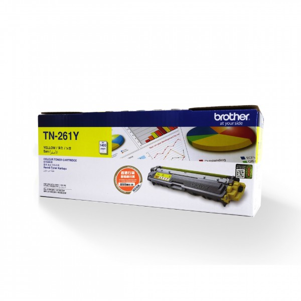 BROTHER Color Laser Toner TN-261Y