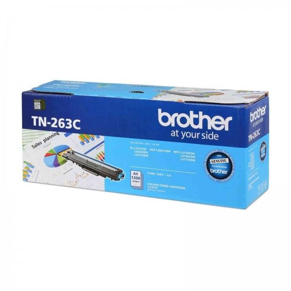 BROTHER Color Laser Toner TN-263C
