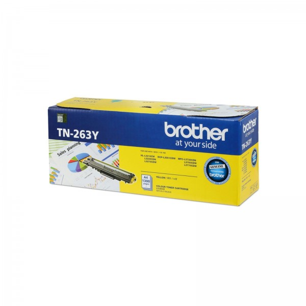 BROTHER Color Laser Toner TN-263Y