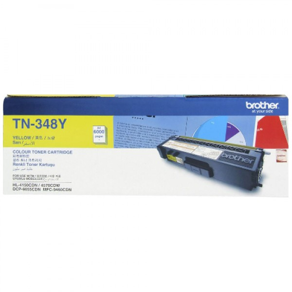 BROTHER Color Laser Toner TN-348Y