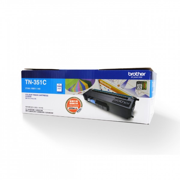 BROTHER Color Laser Toner TN-351C