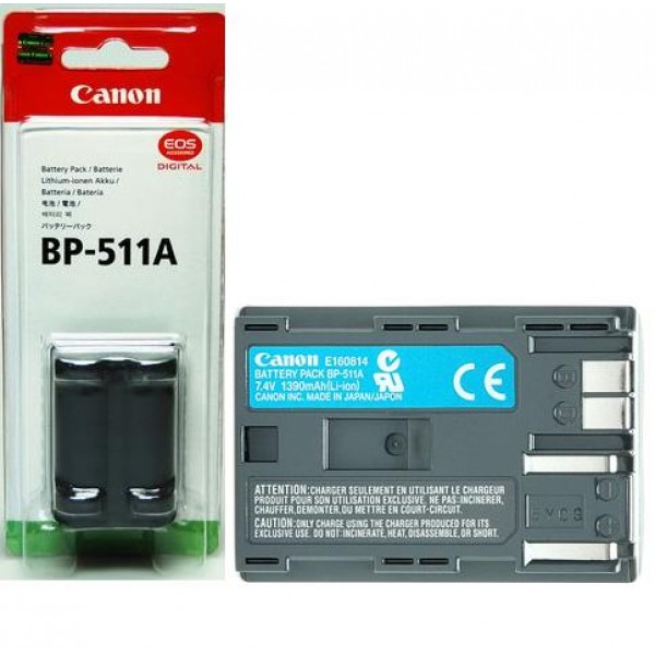 CANON Battery PACK BP-511A