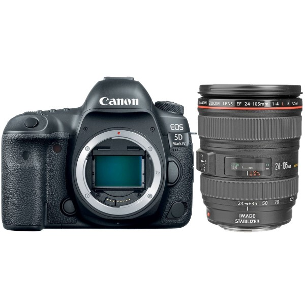 CANON Digital CANON EOS 5D Mark IV with Lens EF 24-105mm L