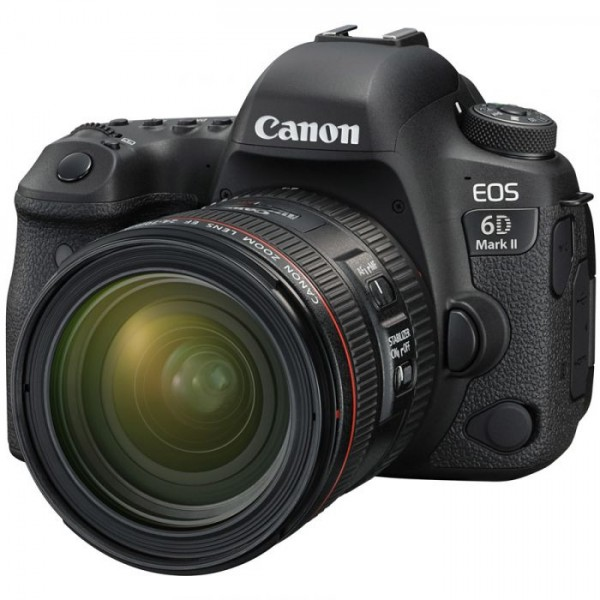 CANON Digital CANON EOS 6D mark II with lens 24-70mm LW