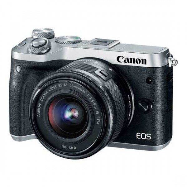 CANON EOS M6 Silver Body Only