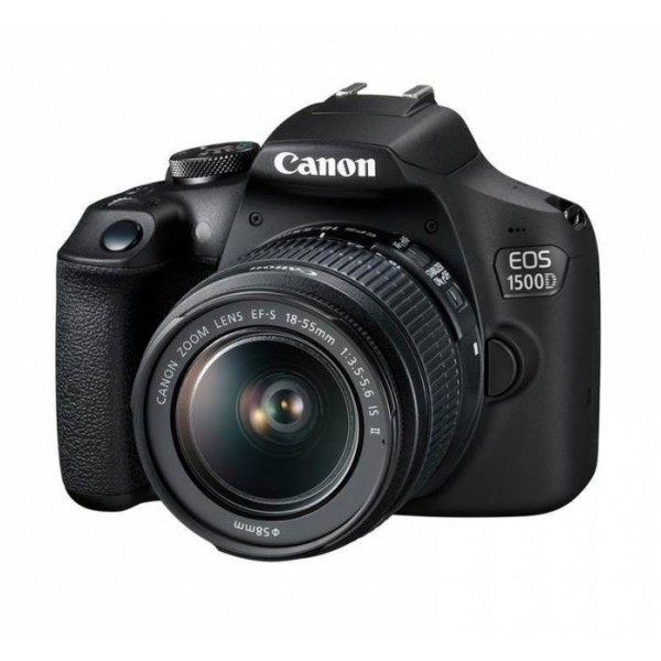CANON EOS 1500D with lens 18-55mm IS II