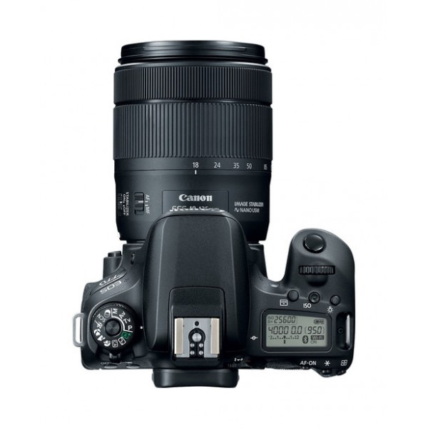 CANON Digital EOS 77D with lens 18-135mm