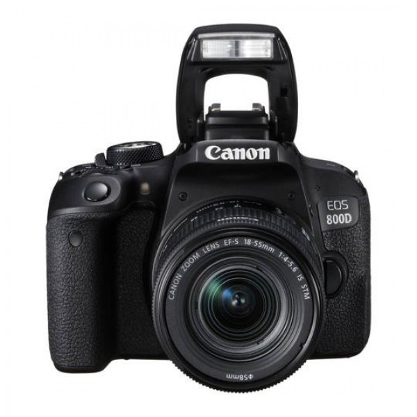 CANON Digital EOS 800D with lens 18-55mm