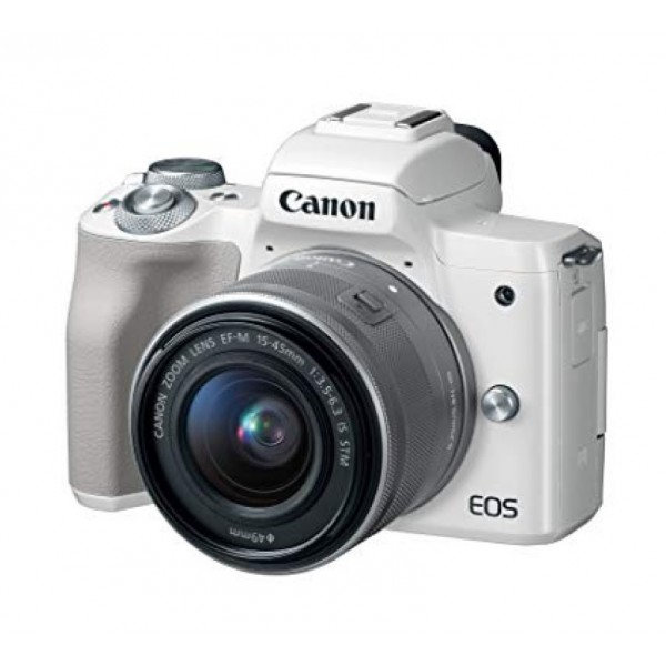 CANON EOS M50 EF-M15-45mm White