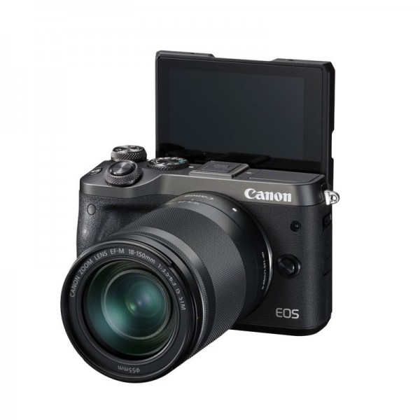 CANON EOS M6 Black with EF-M 18-150mm