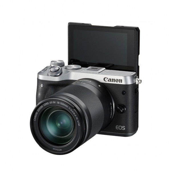 CANON EOS M6 Silver with EF-M 18-150mm