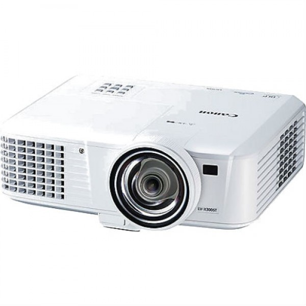 CANON Projector LV-X300ST (3000lm, XGA, 3D, Short Throw)