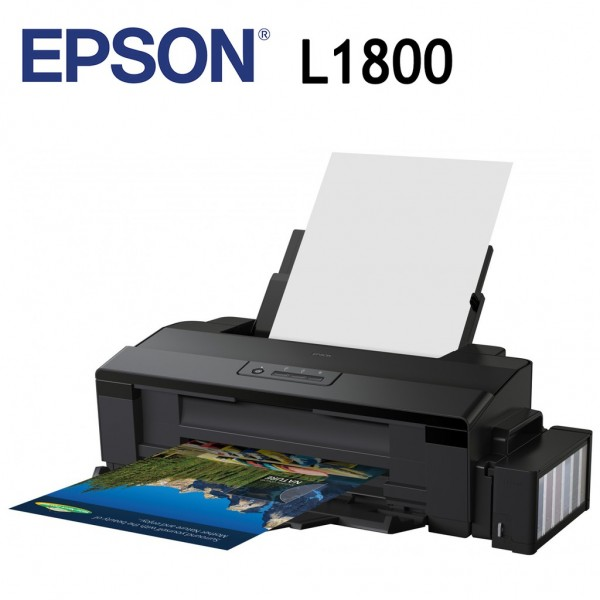 EPSON Printer L1800 (A3+, Print, 15ppm, 6 colour)