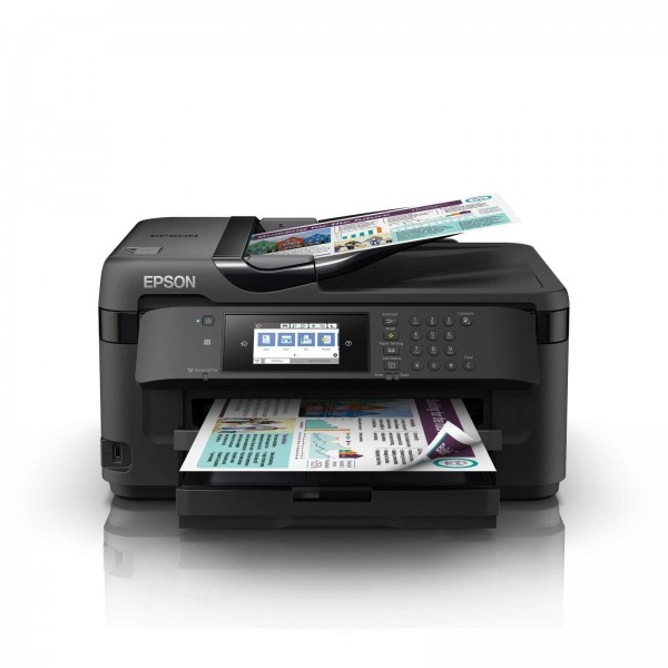 EPSON Printer WF 7711 (A3+, SPC, FAX with ADF, WIFI)