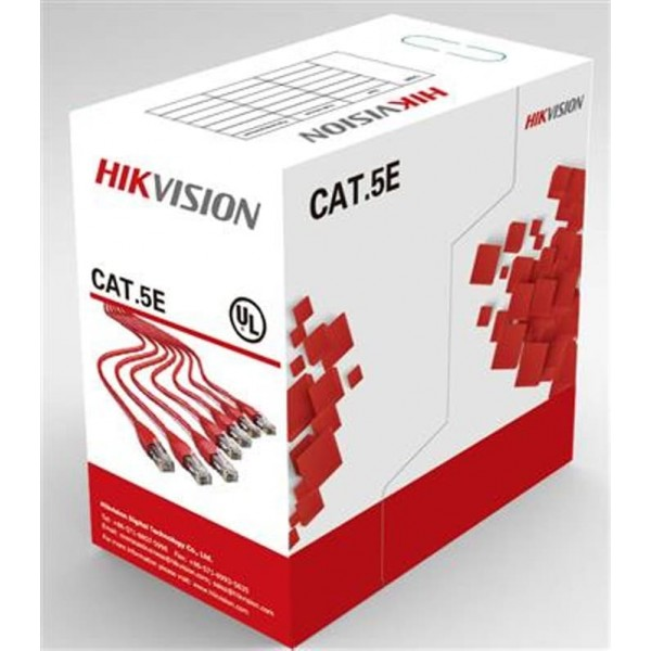 HIKVISION Cable UTP CAT 5E [DS-1LN5E-E/E]