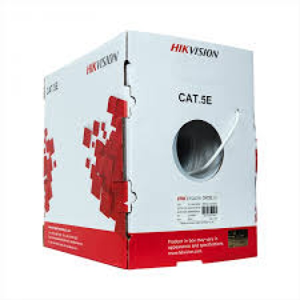 HIKVISION Cable UTP CAT 5E [DS-1LN5EU-G/CCA]