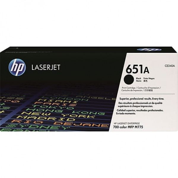 HP LaserJet 700 Color MFP 775 Black Crtg [CE340A]