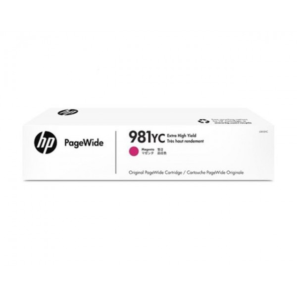 HP 981YC Magenta Contract PageWide Crtg [L0R18YC]