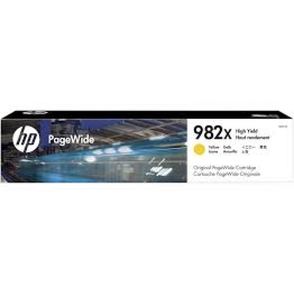 HP 982X Yellow Original PageWide Crtg [T0B29A]