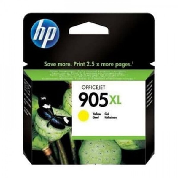 HP 905XL Yellow Original Ink Cartridge [T6M13AA]