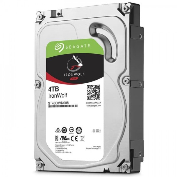 SEAGATE IRONWOLF  NAS HDD [ST4000VN008]