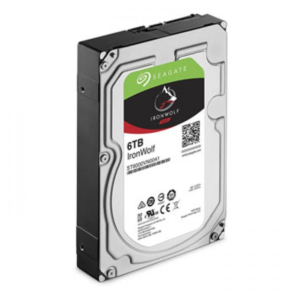 SEAGATE IRONWOLF  NAS HDD [ST6000VN0033]