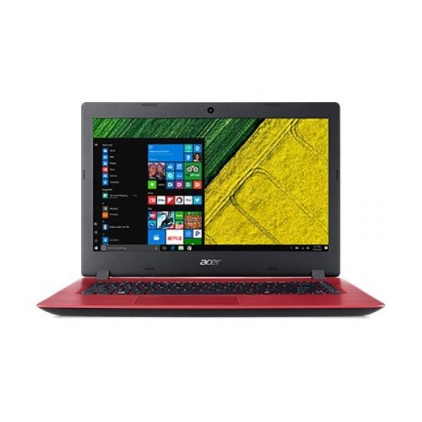 ACER Aspire 3 A314-31 (N3350, 4GB, 500GB, Win 10, Red)