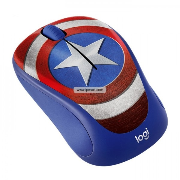 LOGITECH M 238 Marvel Collection Mouse - Captain America