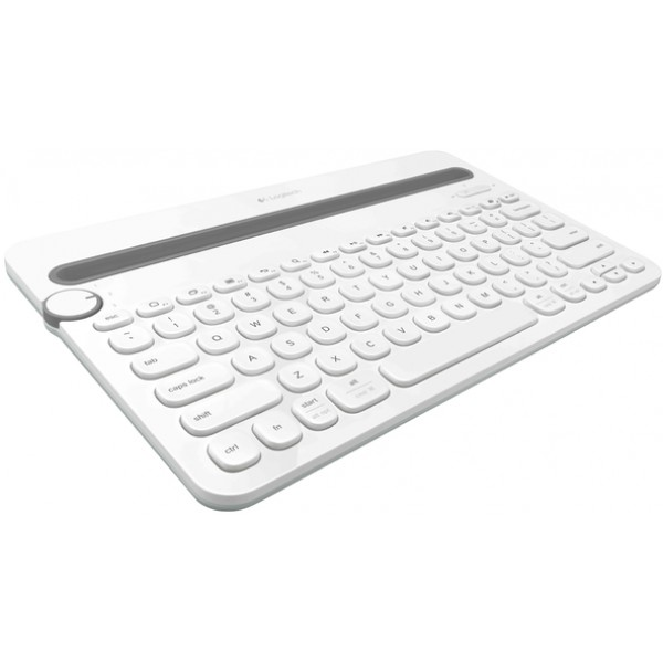 LOGITECH K 480 Bluetooth Multi-Device Keyboard - White