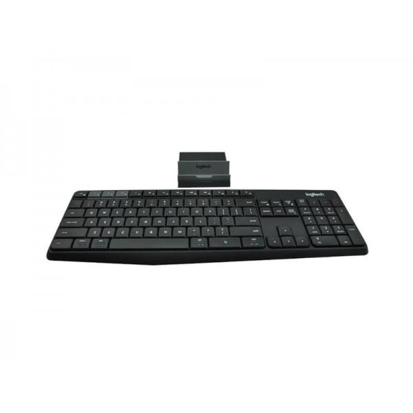 LOGITECH K 375s Multi-Device Wireless Keyboard And Stand Combo