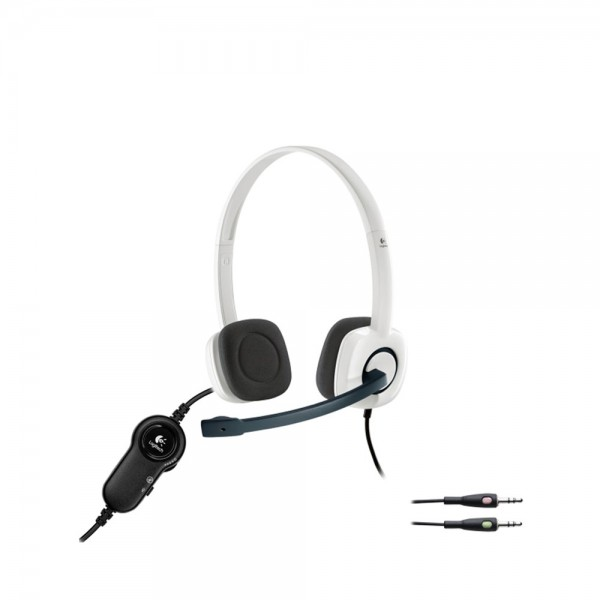 LOGITECH H 150 Headset - Cloud White