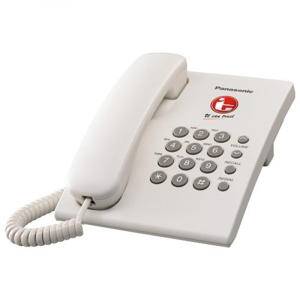 PANASONIC Single Line Telephone KX-TS505MX