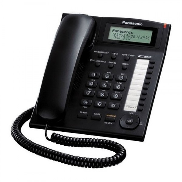 PANASONIC Single Line Telephone KX-TS885ND