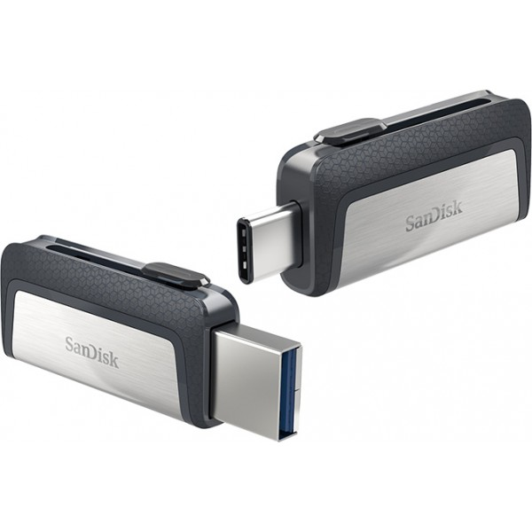SANDISK Ultra Dual Drive - 128GB, USB3.1/Type C enabled Android devices [SDDDC2-128G-G46]