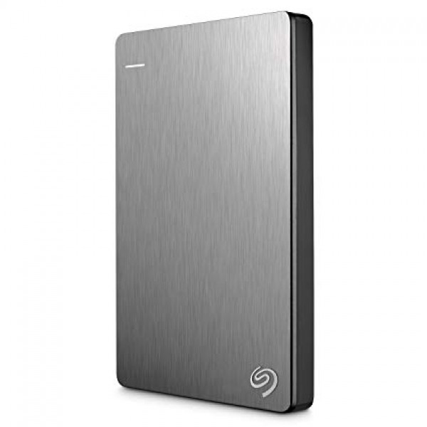 SEAGATE Backup Plus Slim 1TB USB 3.0 SILVER [STHN1000401]