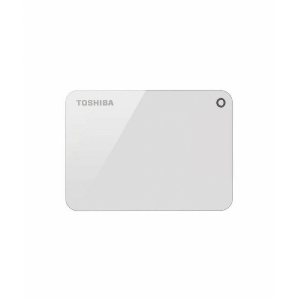 TOSHIBA Canvio Advance 3.0 Portable Hard Drive 1TB (White)