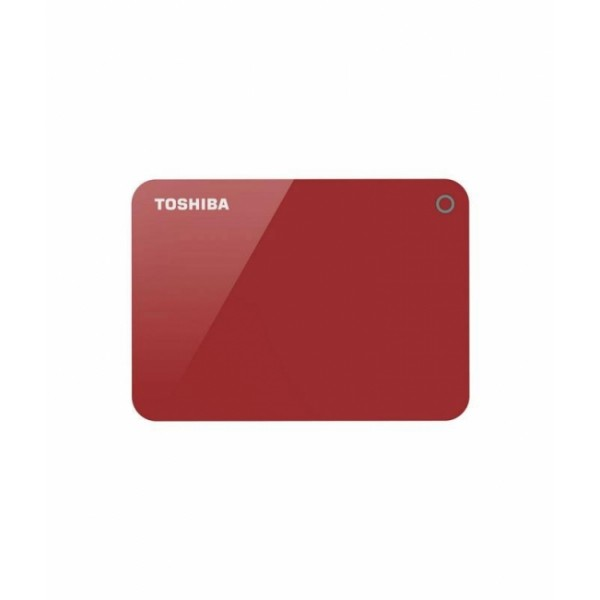 TOSHIBA Canvio Advance 3.0 Portable Hard Drive 2TB (Red)