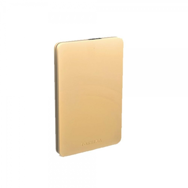 TOSHIBA Canvio Alumy Portable Hard Drive 1TB (Gold)