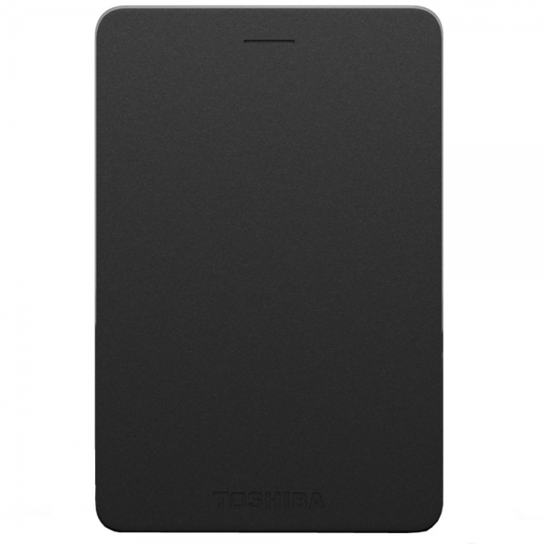 TOSHIBA Canvio Alumy Portable Hard Drive 1TB (Black)