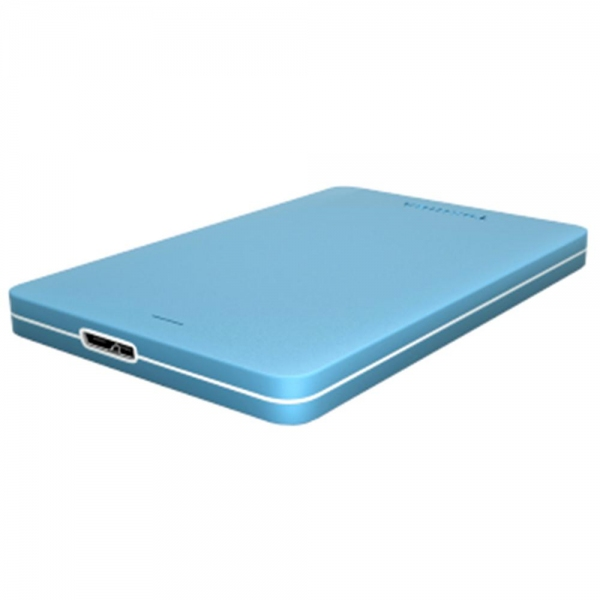 TOSHIBA Canvio Alumy Portable Hard Drive 1TB (Blue)