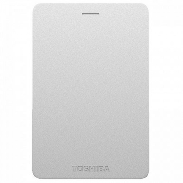 TOSHIBA Canvio Alumy Portable Hard Drive 2TB (Silver)