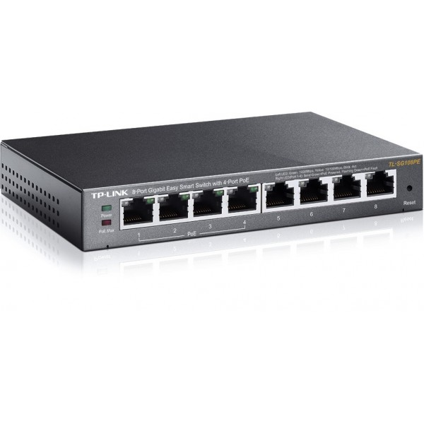 TP-LINK Switch TL-SG108PE