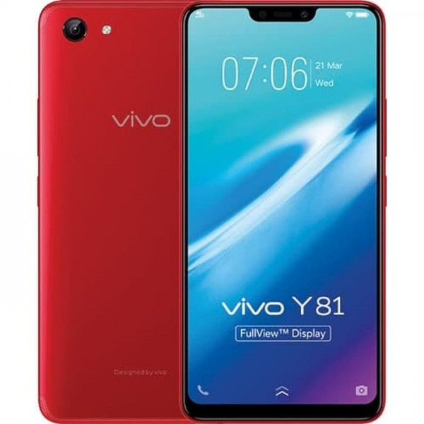 VIVO Y81 1808 3GB RAM 32GB ROM Red [HVI-Y81-32-RED]